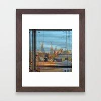 Summer space, smelting selves, simmer shimmers. [extra, 2] Framed Art Print