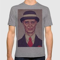Nucky Thompson Mens Fitted Tee Athletic Grey SMALL