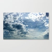Canvas Print featuring Clouds by Clearance21 7