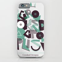 Crooked Typography iPhone 6 Slim Case