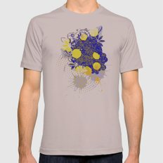 Gold and Blue Harmony Mens Fitted Tee Cinder SMALL