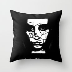 Girl Unwound - Going Through It All Throw Pillow