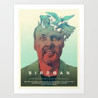 Birdman - Alternative Po… Art Print