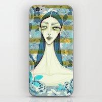 flowerella 2 iPhone & iPod Skin