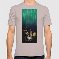 AWAY Mens Fitted Tee Cinder SMALL