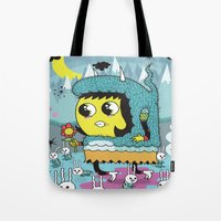 The Birds And The Bunnie… Tote Bag