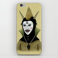 Creature with Black Amulet  iPhone & iPod Skin
