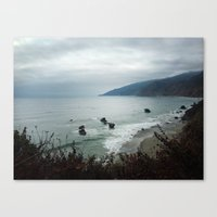 Kirk Creek Canvas Print