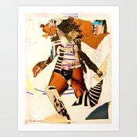 Runnin Art Print