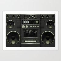 Boo Box Art Print