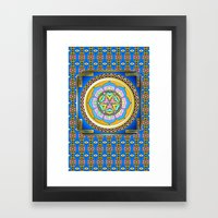 Gates of Heaven Framed Art Print