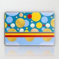 Abstractions No. 4: Polka Dot Circus Laptop & iPad Skin