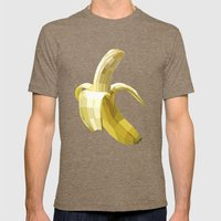 Banana Mens Fitted Tee Tri-Coffee SMALL