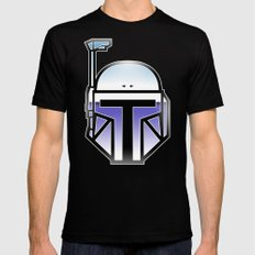 Mandalorian in disguise Black Mens Fitted Tee SMALL
