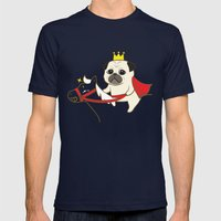 Prince Fu Fu Mens Fitted Tee Navy SMALL
