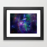 Third Eye Child Framed Art Print