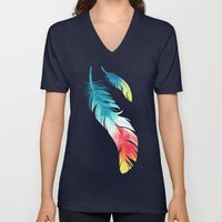 Feather Unisex V-Neck