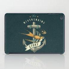 Anchor   Petrol Grey iPad Case
