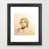 A Man Can Change His Sta… Framed Art Print