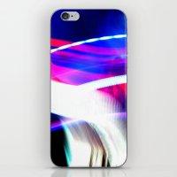 Photo Light Painting iPhone & iPod Skin