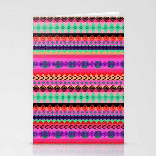 Tribal Stripe Stationery Card