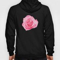 Pink Rose Swirl Petals Hoody