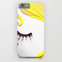 Girl Face Papercut iPhone 6 Slim Case