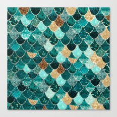REALLY MERMAID Canvas Print