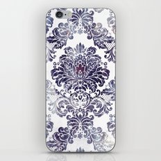Blueberry Damask iPhone & iPod Skin