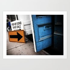 Pop-Up SOHO Yard Sale, Manhattan - New York City Art Print