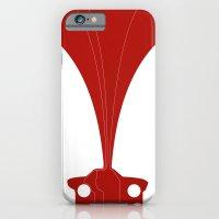 Silhouette Racers - Lancia Fulvia Coupe iPhone 6 Slim Case