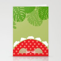 hedge-hug Stationery Cards