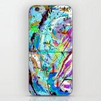 Laughter Lines // Bastille iPhone & iPod Skin