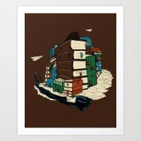 Book City Art Print