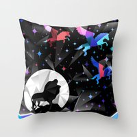 Magical Pegasus Throw Pillow