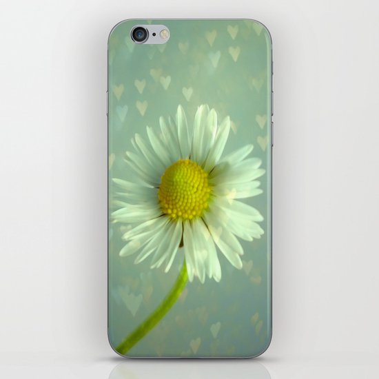Daisy Love - Flower iPhone & iPod Skin