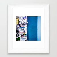 Urban Framed Art Print