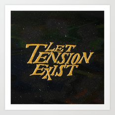 Tension Art Print