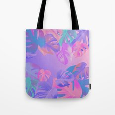 Monstera multi Tote Bag