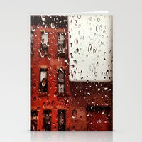 Rainy Day in Brooklyn Stationery Cards