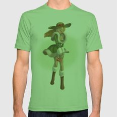 Pin up Mens Fitted Tee Grass SMALL