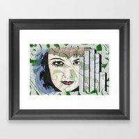 Took My Hands Off Of You… Framed Art Print