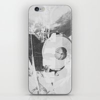 When B, Grey iPhone & iPod Skin