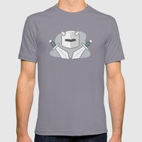 Exile From Ullathorpe - Helmet and Swords Mens Fitted Tee Slate SMALL
