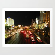 Las Vegas Strip Art Print