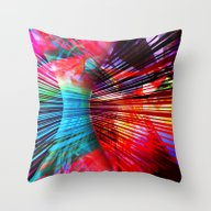 City Moving Throw Pillow