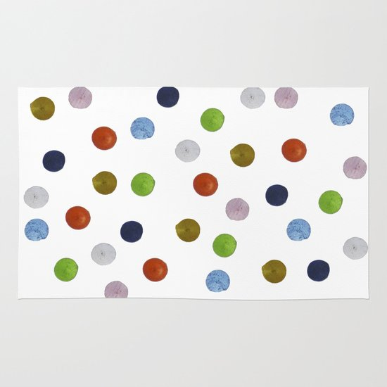 Pinpoint Dots Area & Throw Rug