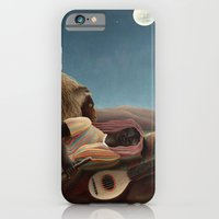 iPhone Cases featuring The Sleeping Gypsy by Henri Rousseau by Palazzo Art Gallery