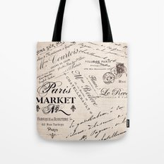 Paris Market 2 Tote Bag