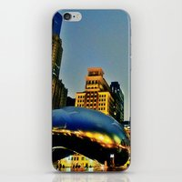 Chicago Bean iPhone & iPod Skin